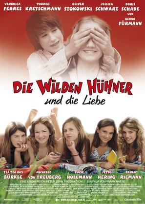 Wilden Hühner und die Liebe, Die - German Movie Poster (thumbnail)