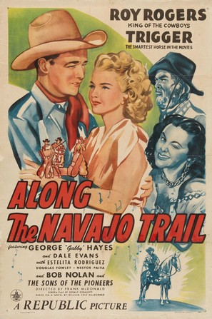 Along the Navajo Trail - Movie Poster (thumbnail)