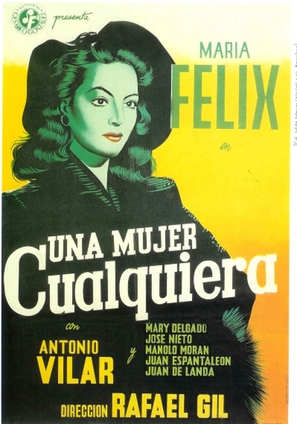Mujer cualquiera, Una - Spanish Movie Poster (thumbnail)