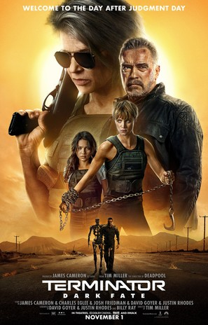 Terminator: Dark Fate - Movie Poster (thumbnail)