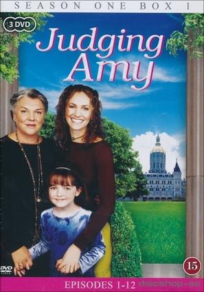 """Judging Amy"" - Danish DVD movie cover (thumbnail)"