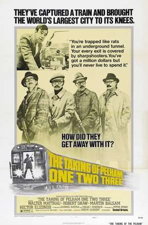 The Taking of Pelham One Two Three - Movie Poster (thumbnail)
