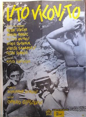 Lito vilovito - Yugoslav Movie Poster (thumbnail)