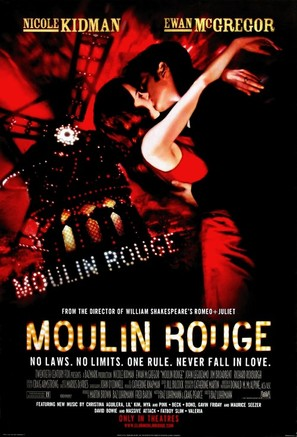 Moulin Rouge - Movie Poster (thumbnail)