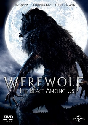 Werewolf: The Beast Among Us - DVD cover (thumbnail)
