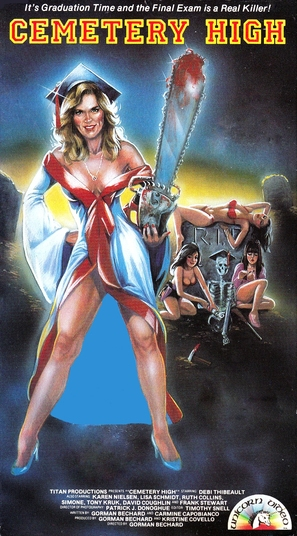 Cemetery High - VHS cover (thumbnail)