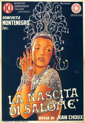 Nascita di Salomè, La - Italian Movie Poster (thumbnail)