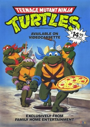 """Teenage Mutant Ninja Turtles"" - Video release poster (thumbnail)"