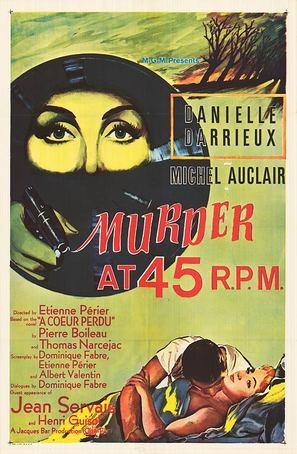 Meurtre en 45 tours - Movie Poster (thumbnail)