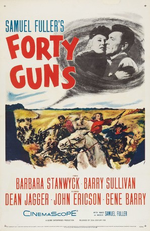 Forty Guns - Movie Poster (thumbnail)