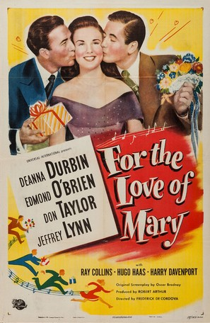 For the Love of Mary - Movie Poster (thumbnail)