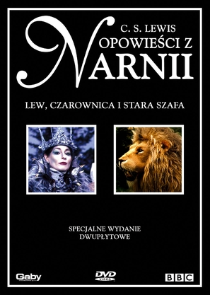The Lion, the Witch, & the Wardrobe - Polish DVD movie cover (thumbnail)