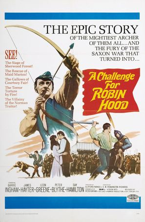 A Challenge for Robin Hood - Movie Poster (thumbnail)