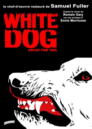 White Dog - French Re-release poster (thumbnail)