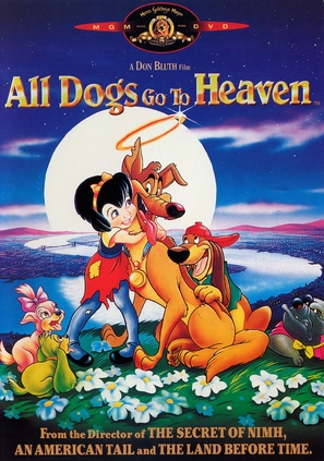 All Dogs Go to Heaven - DVD cover (thumbnail)