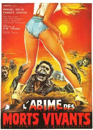 L'abîme des morts vivants - French Movie Poster (thumbnail)