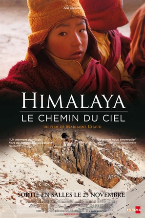 Himalaya, le chemin du ciel - French Movie Poster (thumbnail)