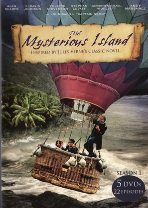 """Mysterious Island"" - DVD cover (thumbnail)"