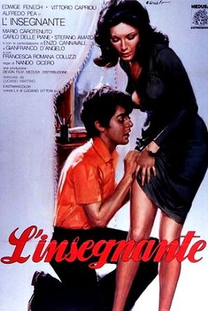 L'insegnante - Italian Movie Poster (thumbnail)