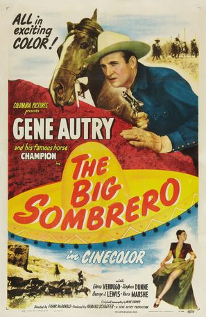 The Big Sombrero - Movie Poster (thumbnail)
