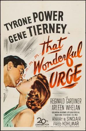That Wonderful Urge - Movie Poster (thumbnail)