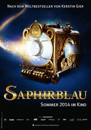 Saphirblau - German Movie Poster (thumbnail)
