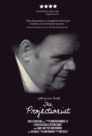 The Projectionist: A Passion for Film - Movie Poster (thumbnail)