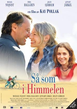 Så som i himmelen - Swedish Movie Poster (thumbnail)