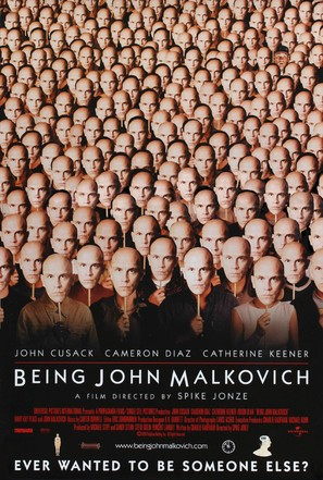 Being John Malkovich - Movie Poster (thumbnail)