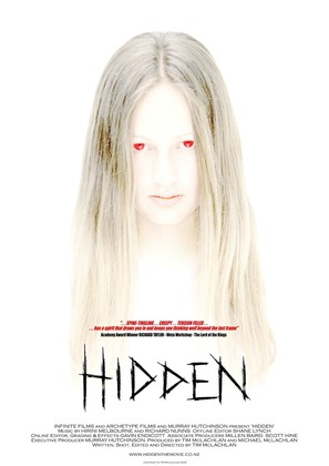 Hidden - New Zealand Movie Poster (thumbnail)