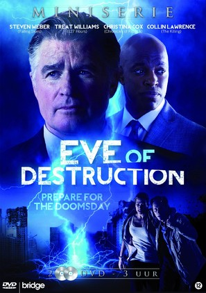 """Eve of Destruction"" - Dutch DVD movie cover (thumbnail)"