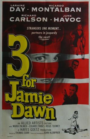 Three for Jamie Dawn - Movie Poster (thumbnail)
