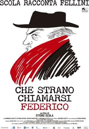 Che strano chiamarsi Federico! - Italian Movie Poster (thumbnail)