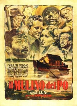 Il mulino del Po - Italian Movie Poster (thumbnail)