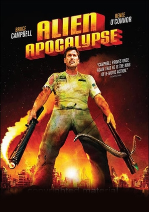 Alien Apocalypse - DVD movie cover (thumbnail)