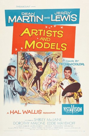 Artists and Models - Theatrical poster (thumbnail)