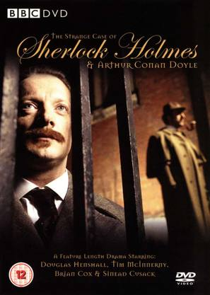 The Strange Case of Sherlock Holmes & Arthur Conan Doyle - British DVD cover (thumbnail)