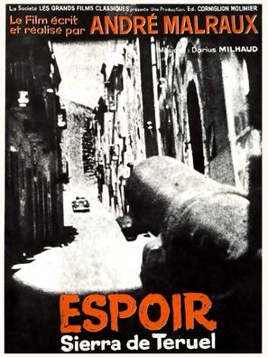 Espoir, L' - French Movie Poster (thumbnail)