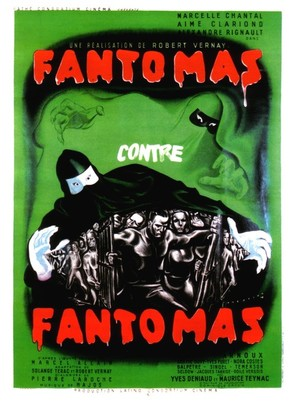 Fantômas contre Fantômas - French Movie Poster (thumbnail)