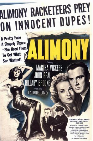 Alimony - Movie Poster (thumbnail)