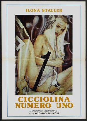 Cicciolina Number One - Spanish Theatrical poster (thumbnail)