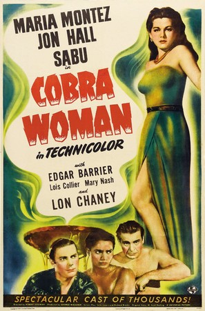 Cobra Woman - Movie Poster (thumbnail)