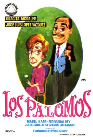 Los palomos - Spanish Movie Poster (thumbnail)