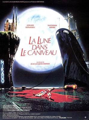 La lune dans le caniveau - French Movie Poster (thumbnail)