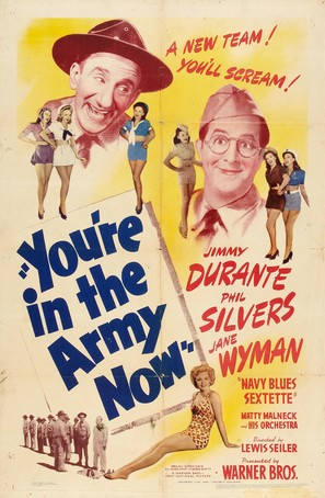 You're in the Army Now - Movie Poster (thumbnail)