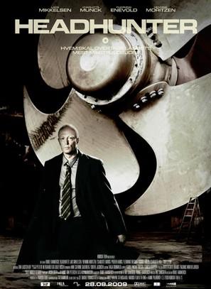 Headhunter - Danish Movie Poster (thumbnail)