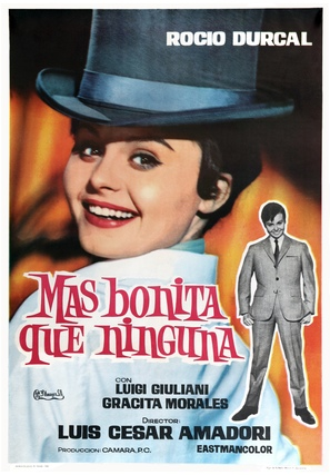 Mas bonita que ninguna - Spanish Movie Poster (thumbnail)