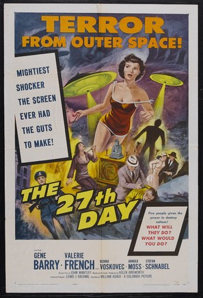 The 27th Day - Movie Poster (thumbnail)