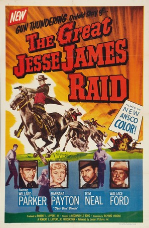 The Great Jesse James Raid - Movie Poster (thumbnail)
