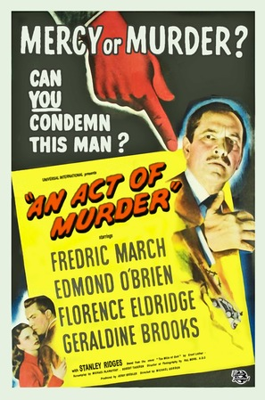 An Act of Murder - Movie Poster (thumbnail)